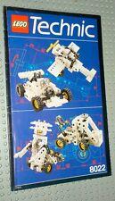 älter: Lego 8022 technic - Anleitung - Komplet