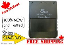 Free McBoot Sony PlayStation 2 PS2 Memory Card (8MB) - 100% New FMCB ALL-Regions