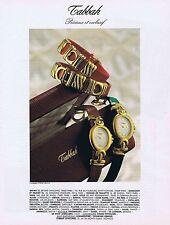 PUBLICITE ADVERTISING 114 1993 TABBAH montres