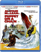 PUPPET ON A CHAIN (1971) Blu-Ray *Limited Ed. JAMES BOND Alistair MacLean *RARE