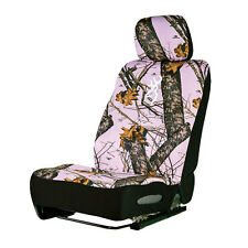 BROWNING PINK MOSSY OAK CAMO CAMOUFLAGE SEAT COVER, AUTO ACCESSORIES, TRUCK, CAR