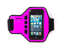 King of Flash Ultimate Quality Pink iPhone 5, 5s, 5c Armband Strap Case Jogging