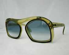 Christian Dior 2043 sunglasses blue green oversized ladies glasses optyl 60's