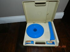 Vintage Fisher Price Phonograph Kids Turntable Record Player #825 1978