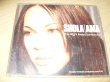 SHOLA AMA - YOU MIGHT NEED SOMEBODY 5 TRACK CD SINGLE