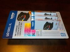 NEW Brother MFC LC103CL XL High Yield Ink Cartridges 3 Pack Cyan Magenta Yellow