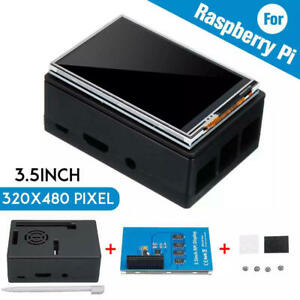 """3.5"""" 320*480 TFT Touch Screen LCD Display Case For'Raspberry Pi A B A+ 2B 3Bs1"""