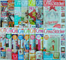Cross Stitcher Magazine Issue 11 - 309 October 1993 - September 2016 Select Any