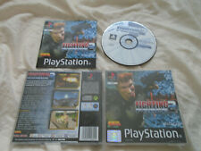 Fighting Force 2 PS1 (COMPLETE) black label Sony PlayStation rare