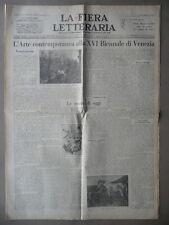 Fiera Letteraria Paolo Buzzi Genesi Futurismo Marinetti Letteratura Arte 1928