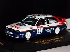 BMW M3 E30 #10 TOUR DE CORSE 1987 BEQUIN IXO RAC040 1/43