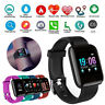 116Plus Smart Watch Heart Rate Blood Pressure Monitor Fitness Activity Tracker