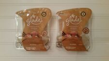Glade Plug Ins Lot of 2 Packages 4 Refills NUTCRACKER DELIGHT Hazelnut Praline