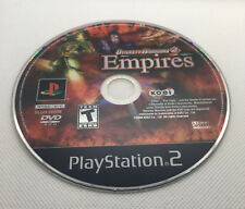 Dynasty Warriors 4 Empires - DISK ONLY - Sony Playstation 2 PS2 - Tested & Works