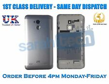 ZTE Blade V7 Lite Rear Battery Back Cover Panel Case With Buttons Grey Silver