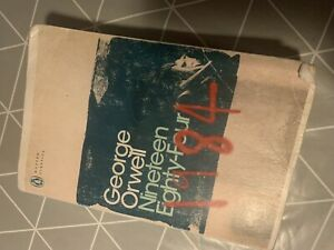1984 - Nineteen Eighty-four by George Orwell (Paperback)