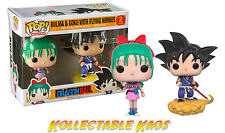 Dragon Ball Z - Bulma and Goku Pop! Vinyl Figure Pack (Set of 2)