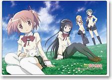 Puella Magi Madoka Magica Grass Plastic Desk Mat Anime Poster NEW