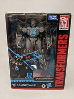 HASBRO Transformers Studio Series 62 SOUNDWAVE Deluxe Class Action Figure