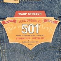 Levis 501 Jeans Original  New Mens Size 38 x 34  MEDIUM BLUE FADED Levi's NWT