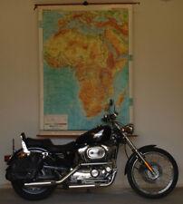 Schulwandkarte Afrika Africa physisch physical 1978 135x187cm vintage wall map