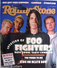"""FOO FIGHTERS """"GROUP & U.F.O.'s ON 1995 ROLLING STONE"""" PROMO POSTER - Nirvana"""