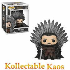 Game of Thrones - Jon Snow on Iron Throne Deluxe Pop! Vinyl Figure #72