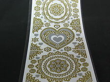 GOLD/SILVER HEARTS/CIRCLES,CORNERS AND MORE L@@K