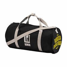 Puma Official Mens BVB Borussia Dortmund Football Fans Barrel Bag Black