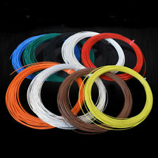 Multi-Strand PTFE Silver Plated Copper Wire Cable 14/16/18/19/20/22/24/26/30AWG