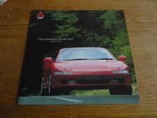 MITSUBISHI 3000GT, Super prestige brochure, mercato britannico,