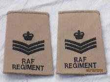 distintivi di grado GB: Staff Sergente, Royal Aeronautica,kaki
