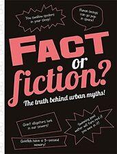 El hecho o ficción?: la verdad detrás de mitos urbanos! nuevo libro de tapa dura