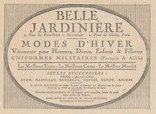 Y5222 Belle Jardinière - Modes d'hiver - Pubblicità d'epoca - 1918 old advert