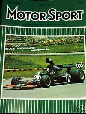 UOP SHADOW CARLOS PACE INTERLAGOS BRAZILIAN GRAND PRIX GP 1975 F1 JARRIER