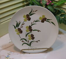 Blue Ridge Pottery Vintage Sunny Spray Luncheon Plate REDUCED