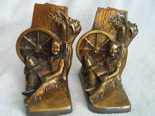 BEAUTIFUL VINTAGE BOOKENDS HEAVY DUTY MADE BY PHILA., MFG. CO.