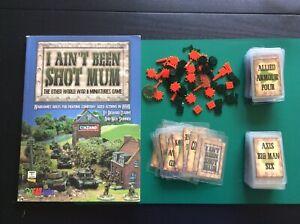 I Ain't Been Shot Mum (IABSM) wargames rules