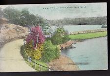 1910 MIDDLESEX MASSACHUSETTS MA View at Causeway Postcard PC