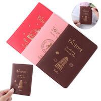 Waterproof Passport Holder Bag Protector Passport Cover Travel Cover Case