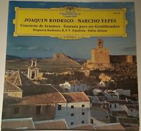 Joaquin Rodrigo Concierto de Aranjuez Narciso Yepes Alonso DGG 139 440 Stereo