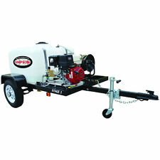 Simpson Professional 3200 PSI (Gas - Cold Water) Pressure Washer Trailer w/ H...
