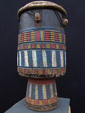 Arte tribal africano --- Baule, Djembe Tambor de África Occidental