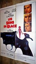 alain delon LES SEINS DE GLACE   ! g lautner m darc affiche cinema  1973