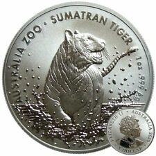 ++ Sumatra Tiger 2020 - Royal Australien Mint - 1oz Silber / Ag  ++
