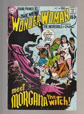 Wonder Woman # 186  Meet Morgana the Witch !  grade 9.0 scarce book !