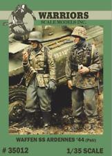 Warriors 1:35 WWII German Waffen SS Ardennes 1944 - 2 Resin Figures Kit #35012