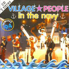CD Single Village People In the navy remixes 94 CARD SLEEEVE