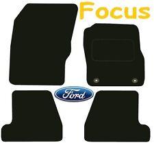 A medida Deluxe Calidad alfombrillas de Ford Focus 2011 En Adelante ** negro ** Hatchback
