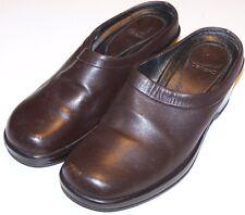 WOMEN SHOES DANSKO MULES Size EU 36 US 5.5M Leather Portugal  Brown